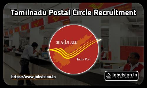 Tamil Nadu Post Office Recruitment 2021
