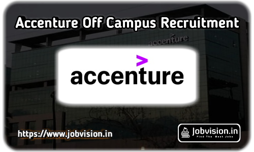 Accenture Off Campus Recruitment 2020