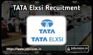Tata Elxsi Recruitment