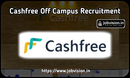 CashFree Off Campus Drive 2021