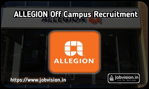 Allegion Recruitment 2021