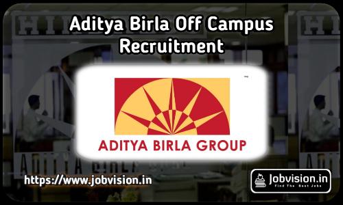 Aditya Birla Recruitment 2021