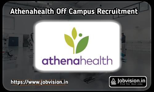 Athenahealth Recruitment 2021