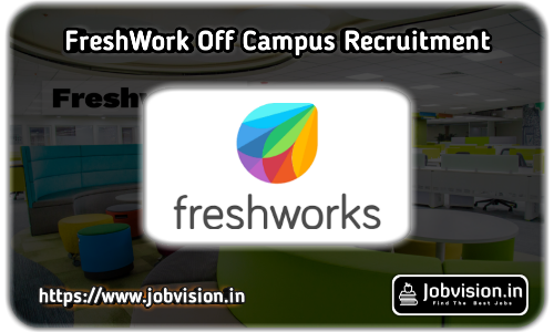 Freshworks Off Campus Drive 2020