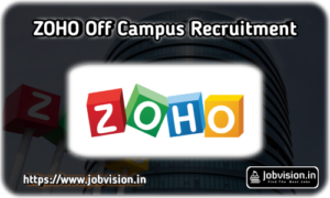Zoho Corporation Off Campus Recruitment