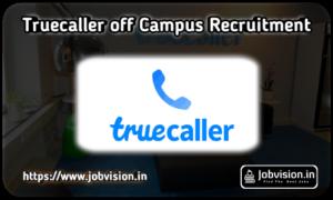 Truecaller Off Campus Drive