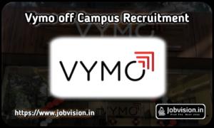 Vymo Off Campus Recruitment