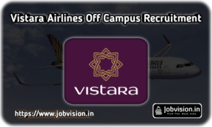 Vistara Airlines Recruitment