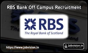 RBS Bank Recruitment
