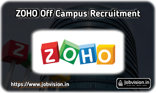 Zoho Off Campus Hiring 2021