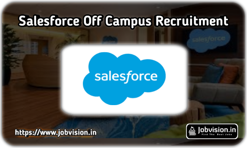 Salesforce Off Campus Drive 2021