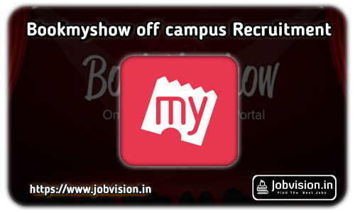 BookMyShow Off Campus Drive