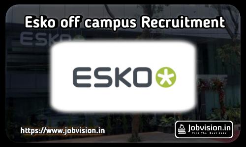 Esko Off campus Recruitment 2021