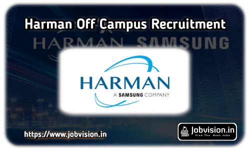 Harman Recruitment 2021