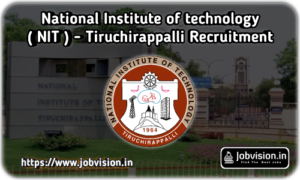 NIT Trichy Recruitment
