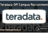 Teradata Recruitment