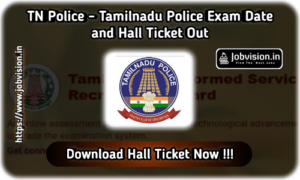 TNUSRB TN Police Hall Ticket 2020