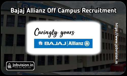 Bajaj Allianz Off Campus Drive