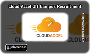 CloudAccel Off Campus Drive