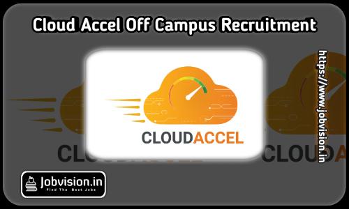 CloudAccel Off Campus Drive