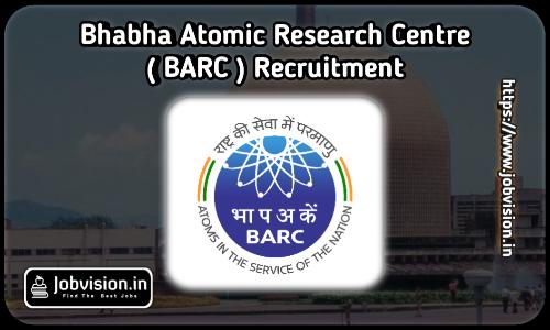 BARC Stipendiary Trainees Recruitment 2021