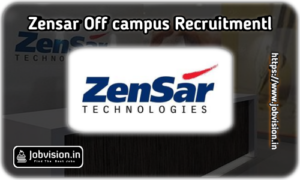 Zensar Technologies Off Campus Drive