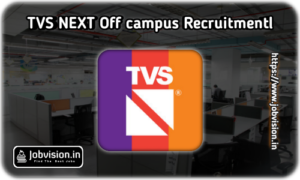 TVS Next Off Campus Drive