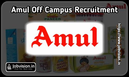 Amul Recruitment
