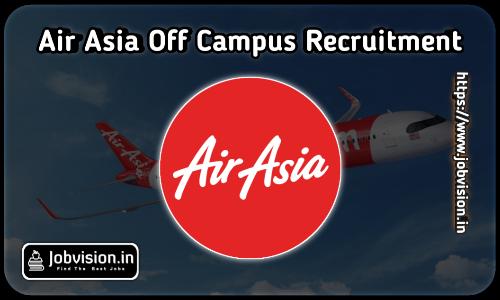 AirAsia Off Campus Drive 2021