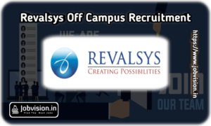 Revalsys Technologies Off-Campus Drive