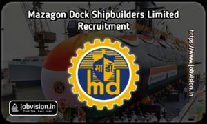 Mazagon Dock Recruitment