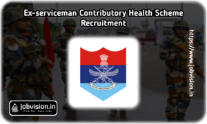 ECHS Tamilnadu Recruitment