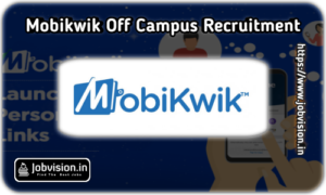 Mobikwik Off Campus Drive