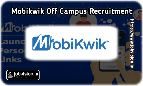 Mobikwik Off Campus Drive 2021