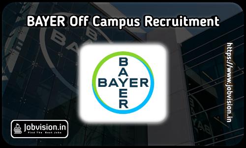 Bayer Recruitment 2021