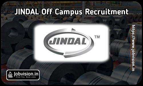 Jindal Aluminium Off Campus Drive 2021