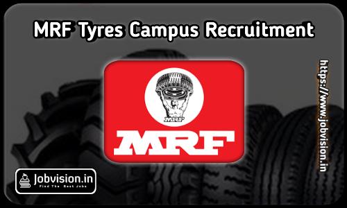 MRF Recruitment 2021