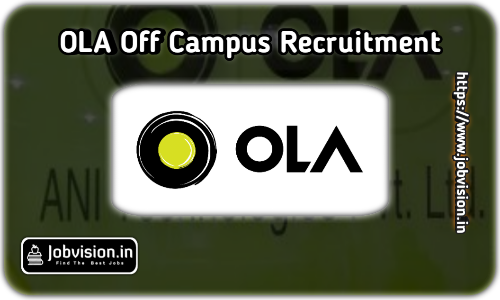 Ola Cabs Off Campus Drive 2021