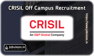 CRISIL Off Campus Drive