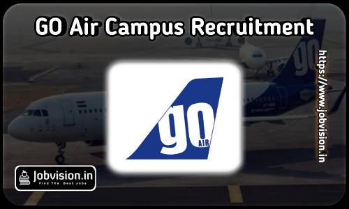 GoAir Recruitment 2021