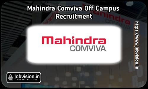 Mahindra Comviva Off Campus Drive 2021