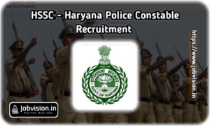 hssc haryana police recruitment