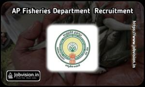 AP Fisheries Department Recruitment