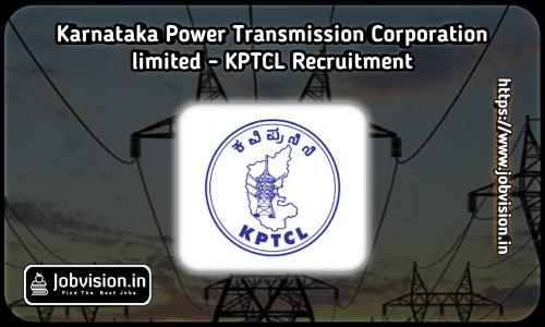KPTCL Recruitment Notification 2021