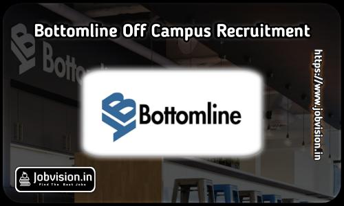 Bottomline Off Campus Drive 2021
