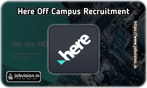 HERE Technologies Off Campus Drive 2021
