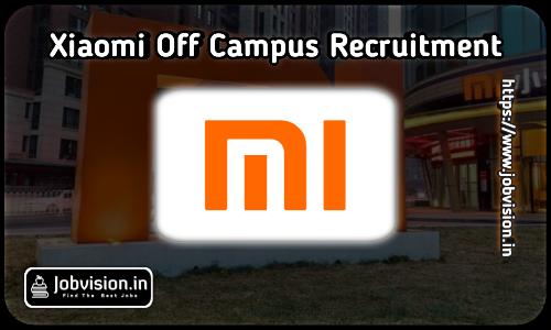 Xiaomi Off Campus Drive 2021