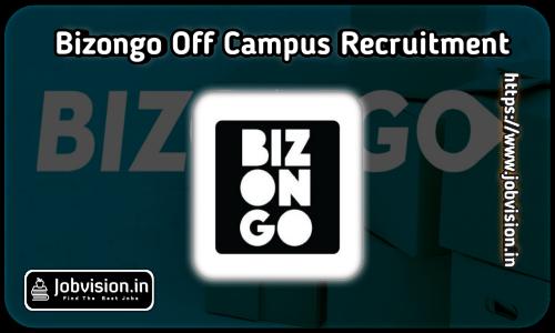 Bizongo Off Campus Drive 2021