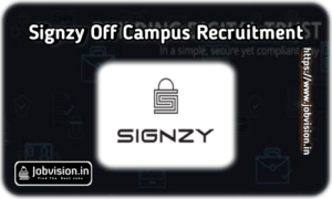 Signzy Off Campus Drive