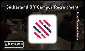 Sutherland Off Campus Hiring